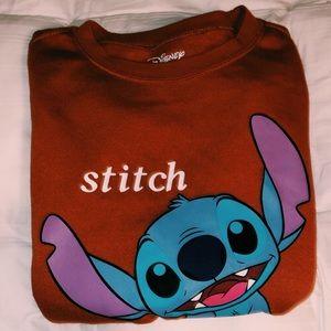 Stitch sweatshirt!